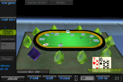 Screenshot ZoneOut Poker 3D
