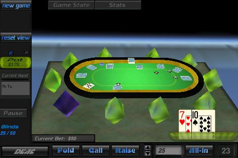 Screenshot ZoneOut Poker 3D