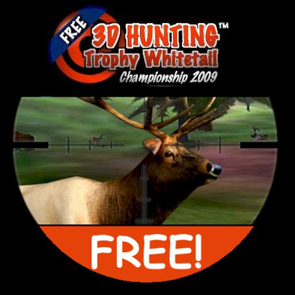 3D Hunting Trophy Whitetail Free app icon